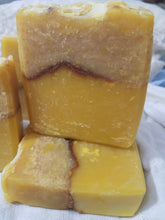 Load image into Gallery viewer, Carrot Yogurt Soap Handmade Homemade Exfoliation