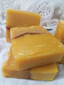 Carrot Yogurt Soap Handmade Homemade Exfoliation