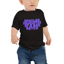 Afbeelding in Gallery-weergave laden, SPOILED DAUGHTER BABY TEE 6-12M