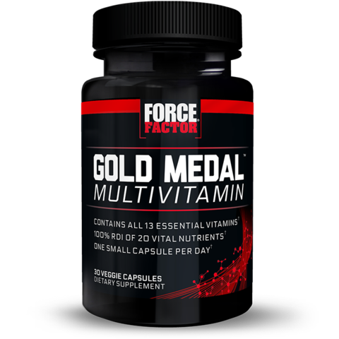 Gold Medal Multivitamin, 30 Veggie Capsule Bottle,