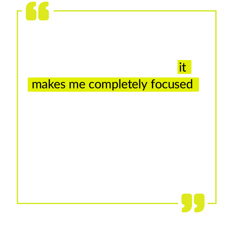 This is by far the best supplement I have ever taken. I take it every morning and it makes me completely focused and wired into my job. It lasts throughout the day and is absolutely amazing. I recommend this to anyone who wants to start their day off right and with a bang! – Mark G.