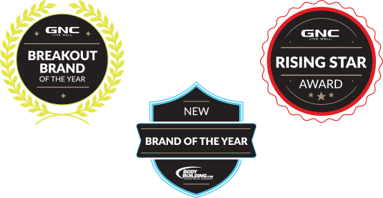 Force Factor was named GNC's Breakout Brand of the Year, GNC's Rising Star, and Bodybuilding.com's New Brand of the Year.