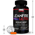 LeanFire Ultra, 60 Capsule Bottle, Size Chart