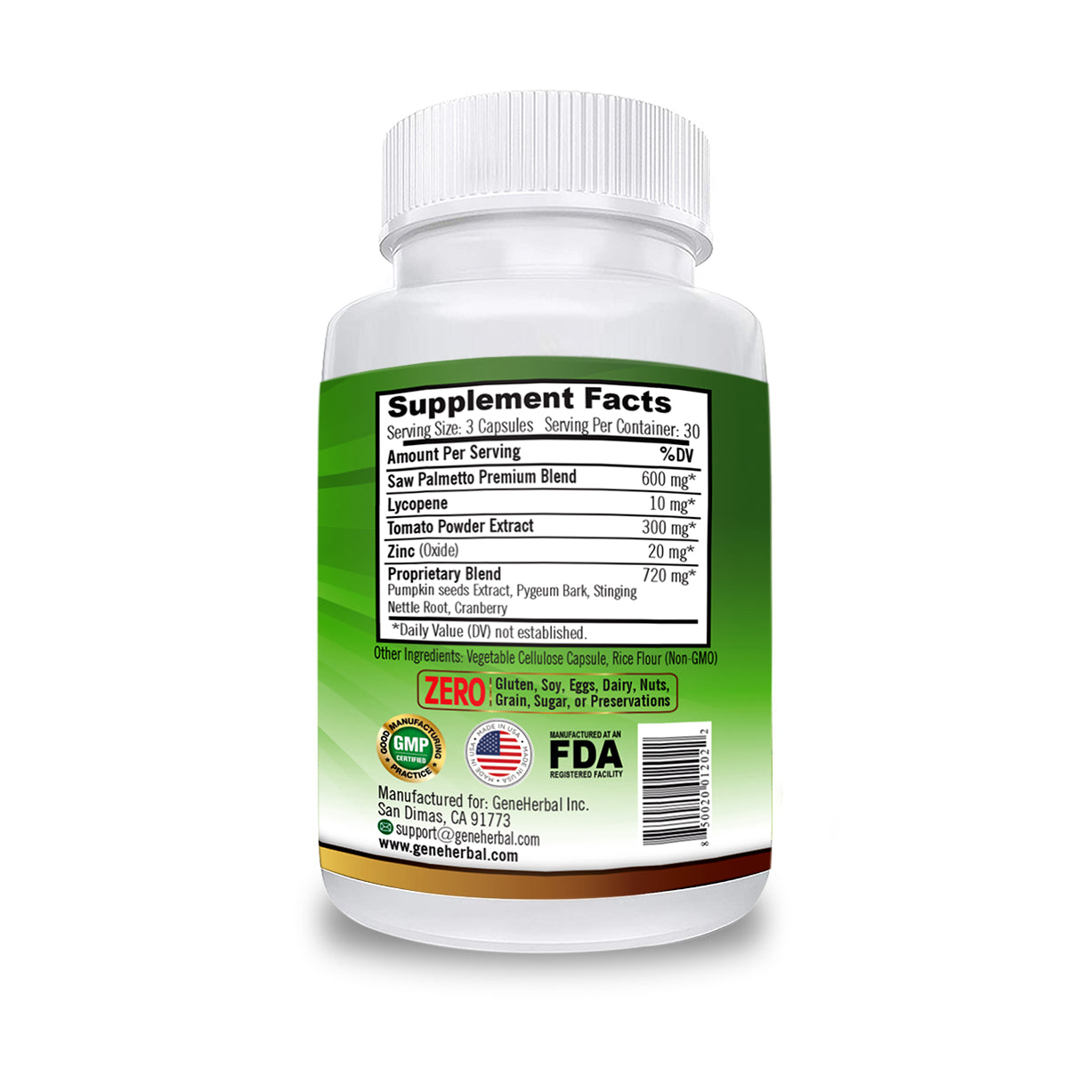 Hair loss root palmetto nettle pygeum saw Pygeum for