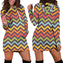 Load image into Gallery viewer, Bright Chevron Dress