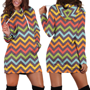 Bright Chevron Dress