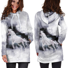 Load image into Gallery viewer, Macabre Mythology (Kelpie) Women's Hoodie Dress