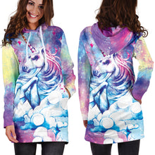 Load image into Gallery viewer, Unicorn 2 Hoodie Dress