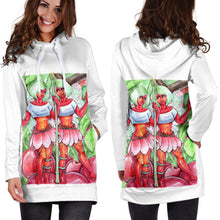 Load image into Gallery viewer, Cherry Fairies Women's Hoodie Dress