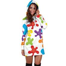 Load image into Gallery viewer, Art Splatter Hoodie Dress - Best Hoodie Dress