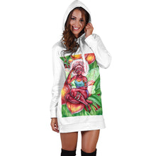 Load image into Gallery viewer, Nectarine Women's Hoodie Dress