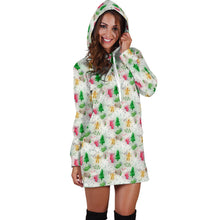 Load image into Gallery viewer, Feels Like Christmas Hoodie Dress