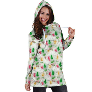 Feels Like Christmas Hoodie Dress