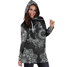 Load image into Gallery viewer, Sun & Moon 2 Hoodie Dress