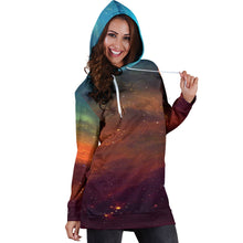 Load image into Gallery viewer, Universe Hoodie Dress