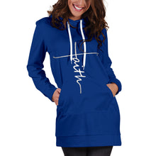 Load image into Gallery viewer, Faith Hooded Dress - Best Hoodie Dress