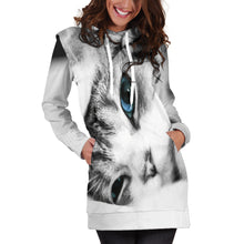 Load image into Gallery viewer, Kitten Women's Hoodie Dress