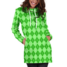 Load image into Gallery viewer, St Patricks Day Womens Hoodie Dress