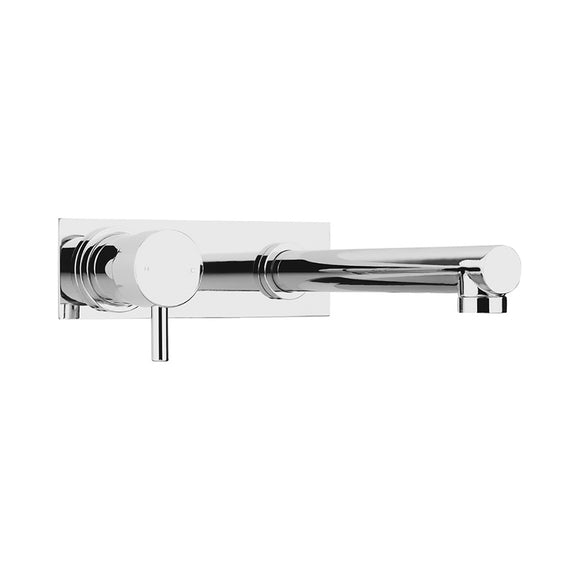 ALDER NUOVA BASIN MIXER WALL SET FIXED CP 220 W/BP