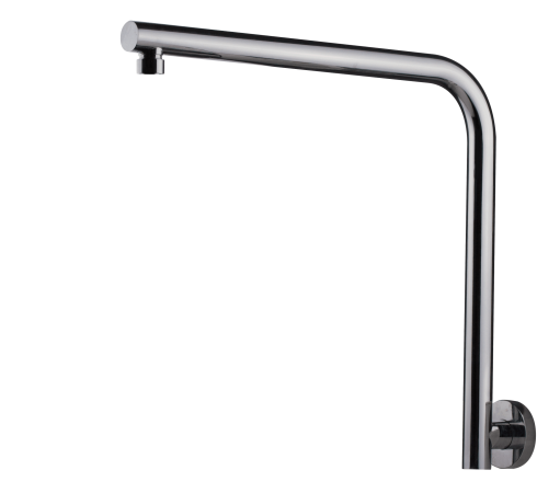 BRASSHARDS MIXX RND SHOWER ARM HIGH RISE CP