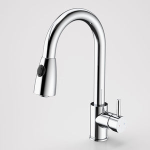 CAROMA HUSK SINK MIXER RETRACT DUAL SPRAY CP