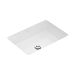 Argent Villeroy & Boch Architectura Rectangular Inset Basin 495mm