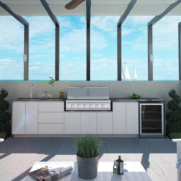 Outdoor Kitchen - CA4 (With Granite)