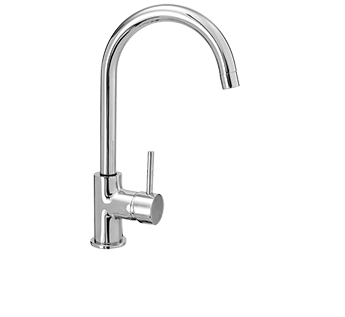 EVERHARD Classic SQ PIN SINK MIXER G/N CP