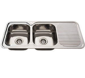EVERHARD SINK NUGLEAM 1180 DBL LHB 1TH
