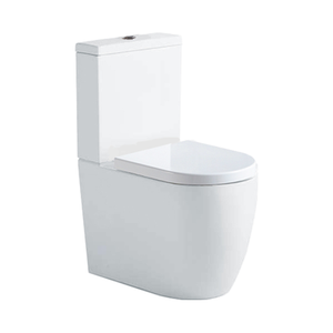 Argent Grace Hygienic Flush Back to wall Toilet Suite