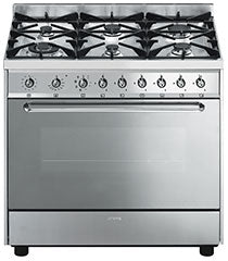 SMEG DUAL FUEL UPRIGHT CS90GMXA NG (C90GMXA)