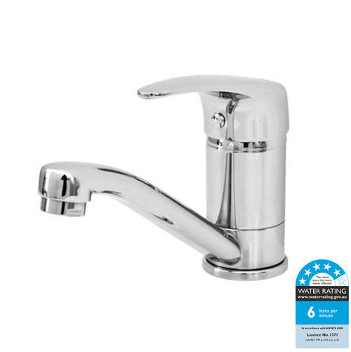 CASTANO CAPRI 40 BASIN MIXER SWIVEL CP