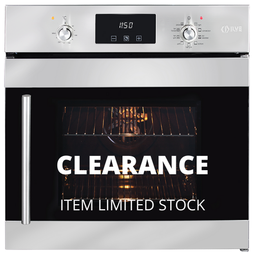 Ilve Electric Built in Wall Oven with Side Opening Door ILO69SX (Click and collect only)