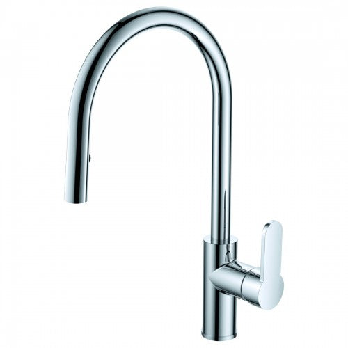 ARGENT MIRRA SINK MIXER G/N P/OUT CP