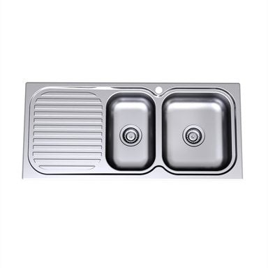 Caroma Radiant Sink R150.1R 1Th 1.75 E/B Rh 1100