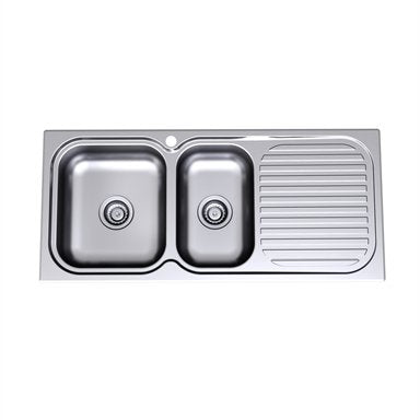 Caroma Radiant Sink R150.1L 1Th 1.75 E/B Lh 1100