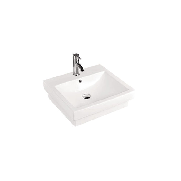 Kdk Swindon V/Basin A/Ctr S/Inset Wht 500 1Th