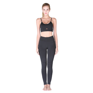Elastic Sexy Yoga Suit for Running and Workout