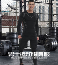 Load image into Gallery viewer, 4pcs / set Tight Tracksuit for Gym and Fitness