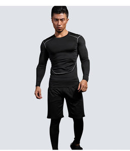 4pcs / set Tight Tracksuit for Gym and Fitness