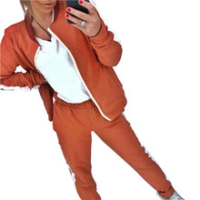 Load image into Gallery viewer, Autumn Zipper Tracksuit For Gym And Running