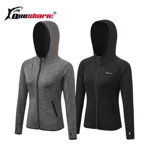 Queshark Running Hooded Jacket