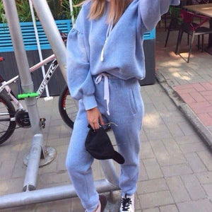 Thick Tracksuit with Long Sleeve