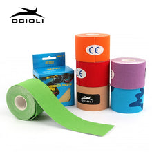 Load image into Gallery viewer, 5cm X 5m Kinesiology Adhesive Muscle Bandage Strain Injury Support