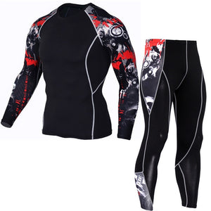 Jogging Set Sport  ( Long T-shirt & Pants )
