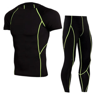 Fitness Tight Sportswear Running Set.