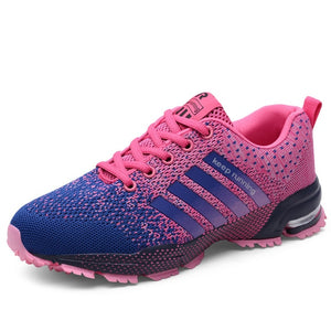Couple Running Shoes Breathable Outdoor Male Sports Shoes Lightweight Sneakers Women Comfortable Athletic Training Footwear