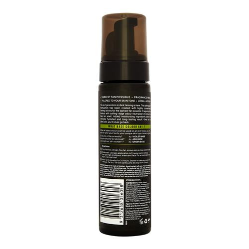 UBER DARK SELF TANNING FOAM GREEN BASE 200ML