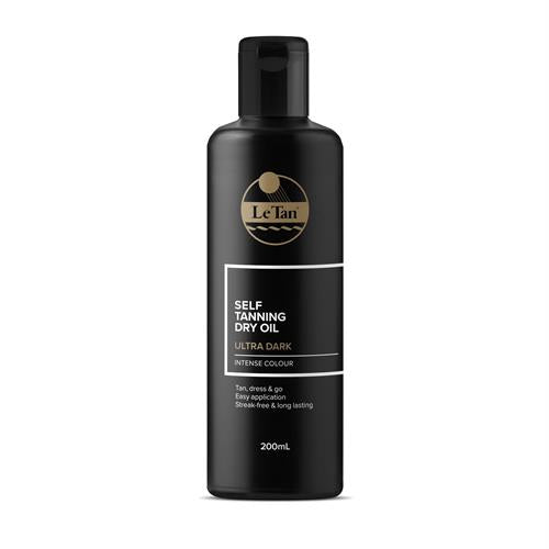 LE TAN ULTRA DARK DRY OIL 200ML