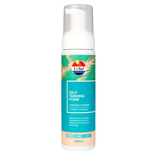 COCONUT WATER SELF TANNING FOAM 200ML